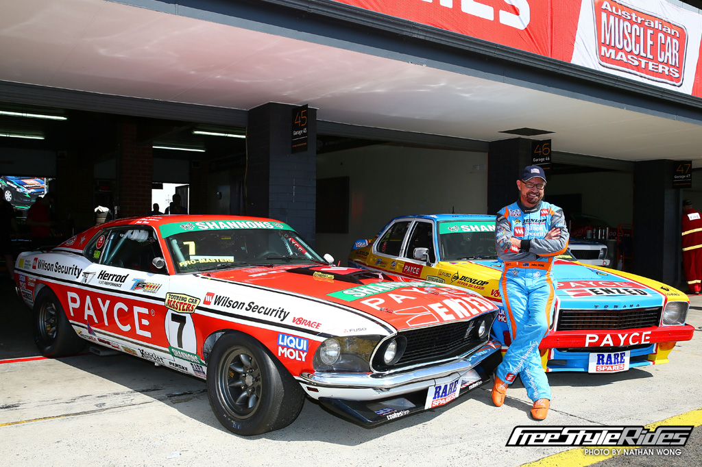 JB sure can pick 'em! Despite delivering him three TCM Championships and a runner-up, for 2015 John stepped out of Mustang Sally and across into the Torana, which achieved immediate results