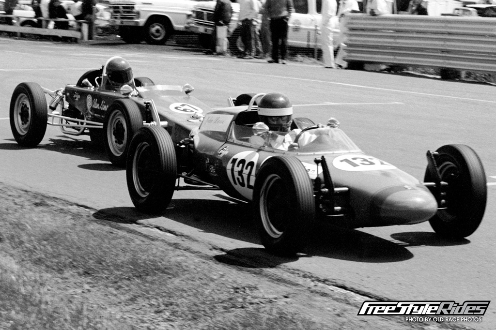 JB achieved success very early in his career, winning the 1971 Tasmanian Formula Vee title on debut in an Elfin 500, followed by the Tasmanian Formula Ford title in 1972
